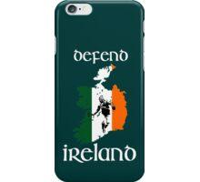 defend ireland - flag iPhone Case/Skin