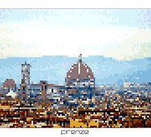 Pixel Art Cities: Florence by Elena Kartseva