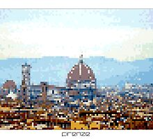 Pixel Art Cities: Florence by Elena Kartseva