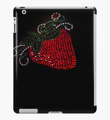 Strawberry Bling iPad Case/Skin