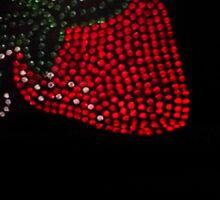 Strawberry Bling Sticker