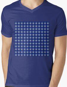 Dainty Little BlueLadybugs Mens V-Neck T-Shirt