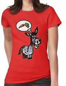 The Carrot by Cheerful Madness!! Womens Fitted T-Shirt