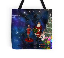 Merry Christmas to all of my friends Tote Bag