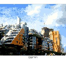 Pixel Art Cities: Berlin by Elena Kartseva