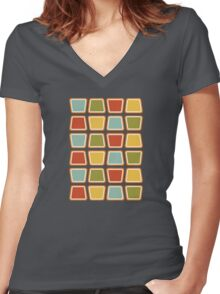 Jello Cups Women's Fitted V-Neck T-Shirt
