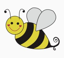Bumble Bee Graphic Kids Clothes