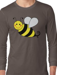 Bumble Bee Graphic Long Sleeve T-Shirt
