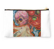 Octopus Skull Colored Pencil Studio Pouch