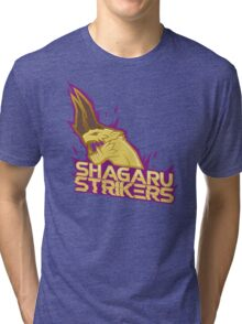 Monster Hunter All Stars - Shagaru Strikers Tri-blend T-Shirt