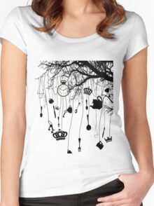 Tree of Wonders Women's Fitted Scoop T-Shirt