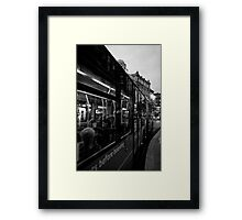 West End Commuter Framed Print