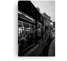 West End Commuter Canvas Print