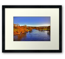 River Tay at Aberfeldy Framed Print