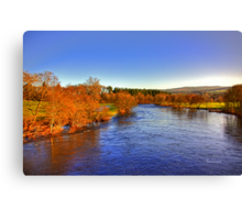 River Tay at Aberfeldy Canvas Print
