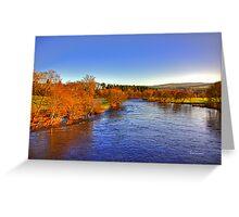 River Tay at Aberfeldy Greeting Card