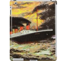 RMS Titanic in the Style of the Masters iPad Case/Skin