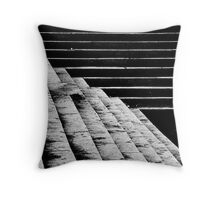 18 Stairs Throw Pillow