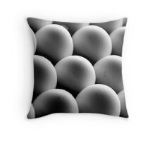 18 Eggs Throw Pillow