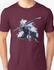 Artorias out of the abyss! - Knight Artorias Text Unisex T-Shirt