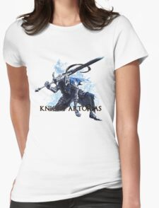 Artorias out of the abyss! - Knight Artorias Text Womens Fitted T-Shirt