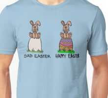 Sad or happy Easter Unisex T-Shirt