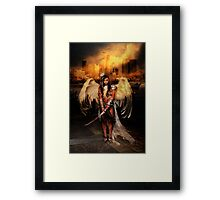 The Battle Angel Framed Print