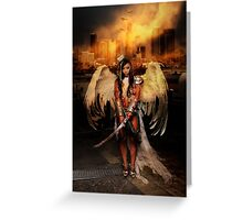 The Battle Angel Greeting Card