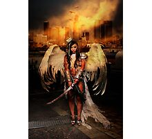 The Battle Angel Photographic Print