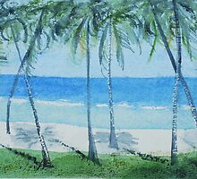 Mombasa beach  by Nirsha