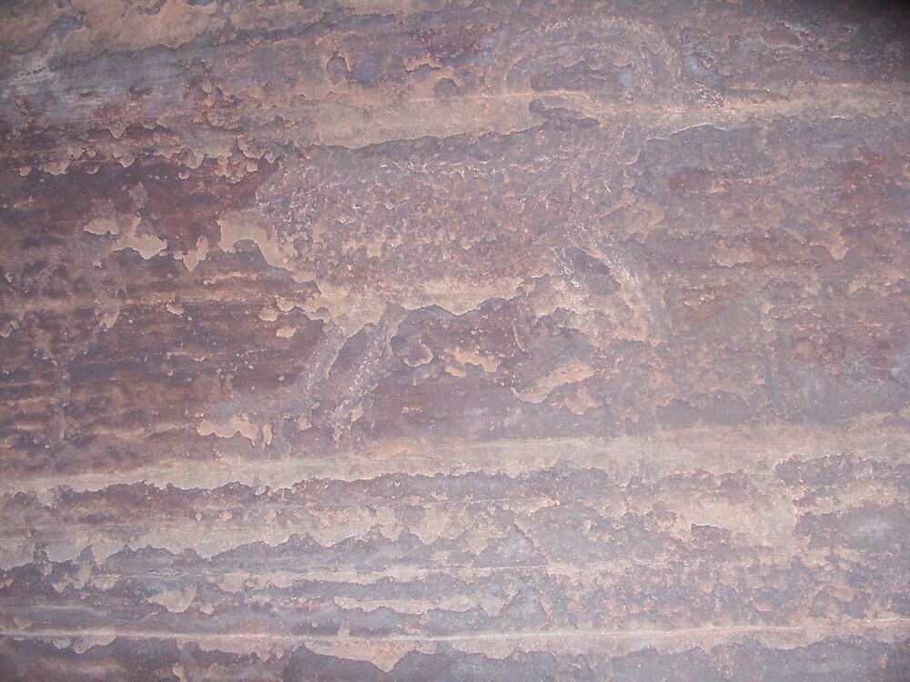Utah rock drawing by hunter22375