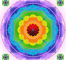 Mandala Balance and Harmony by Sarah Niebank