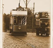 """Tram"" Old Photo Effect  by Woodie"