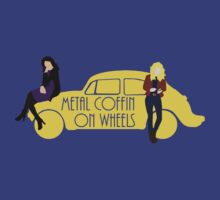 Metal Coffin On Wheels T-Shirt