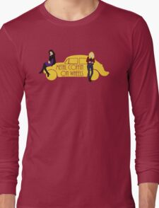 Metal Coffin On Wheels Long Sleeve T-Shirt