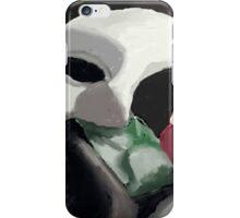 Phantom of the Opera Mask and Rose iPhone Case/Skin