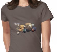 Poor Pluto T-shirt Womens Fitted T-Shirt