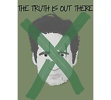 X Mulder Photographic Print