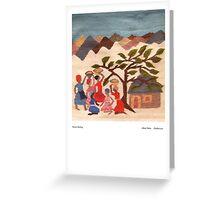 Women Meeting Greeting Card