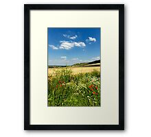 The Westbury White Horse, Wiltshire, UK Framed Print
