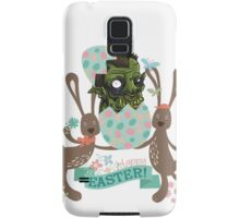 Funny monster hatching Easter egg cute Easter bunnies Samsung Galaxy Case/Skin