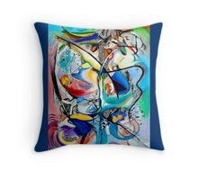 Intimate Glimpses, Journey of Life Throw Pillow