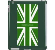 Green Britain, green flag iPad Case/Skin