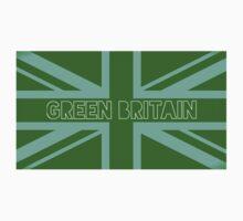 Green Britain, green flag Kids Clothes