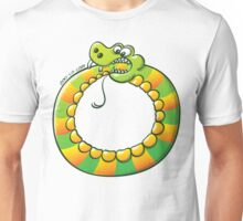 Snake Biting its own Tail Unisex T-Shirt