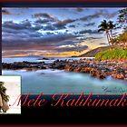Christmas in Hawai'i - Mele Kalikimaka Card by Randy Jay Braun