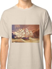 Cutty Sark in Heavy Seas Classic T-Shirt