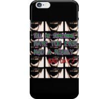Joker quote iPhone Case/Skin