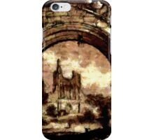Byland Abbey, Yorkshire, England - all products iPhone Case/Skin