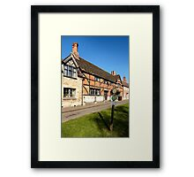 The Old Merchant's Hall, Steeple Ashton, Wiltshire, UK Framed Print